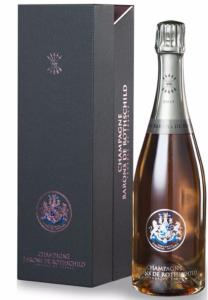 "CHAMPAGNE BARONS DE ROTHSCHILD ""ROSE"