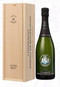 "CHAMPAGNE BARONS DE ROTHSCHILD ""EXTRA BRUT"