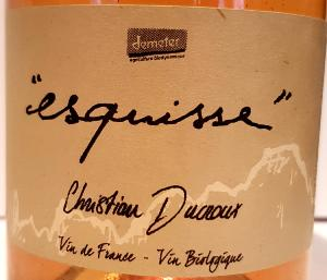 CHRISTIAN DUCROUX ESQUISS
